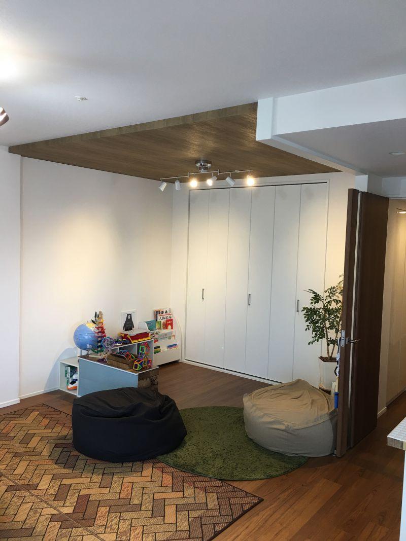 施工事例 和室が カフェ風リビングに 大阪 吹田市 豊中市 箕面